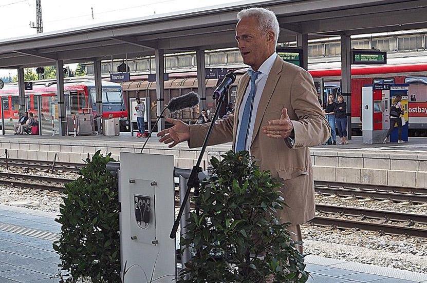 Traunsteiner Bahnhof jetzt barrierefrei