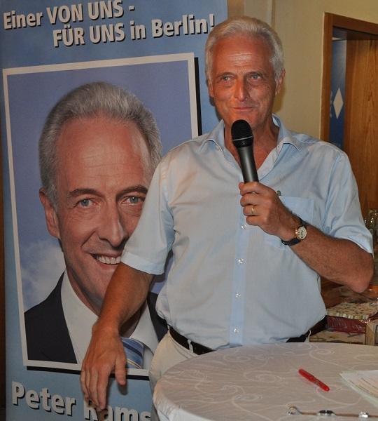 Dr. Peter Ramsauer zum Sommergespräch in Ainring