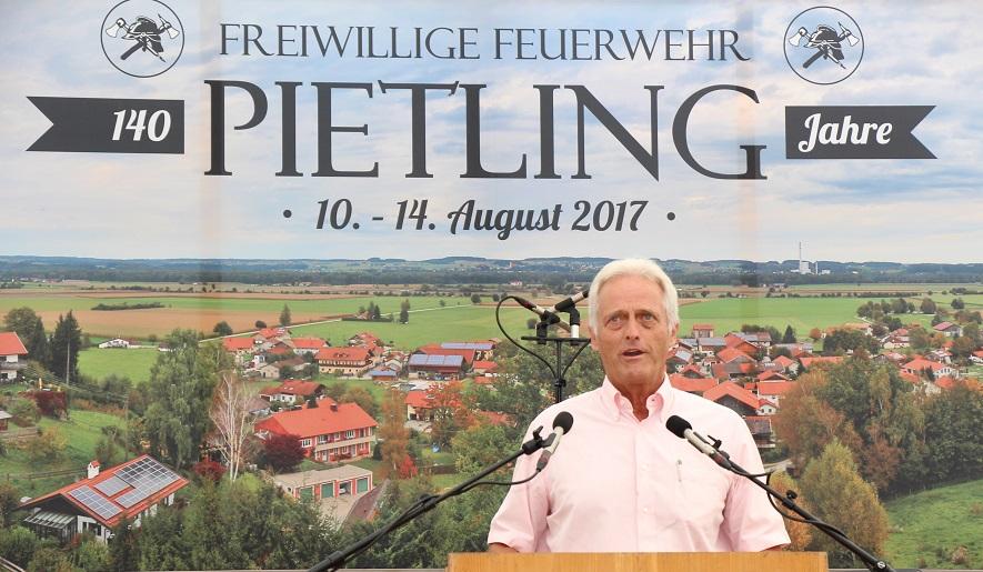 Politischer Frühschoppen in Pietling