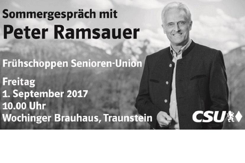 Veranstaltungshinweis: Frühschoppen Senioren-Union