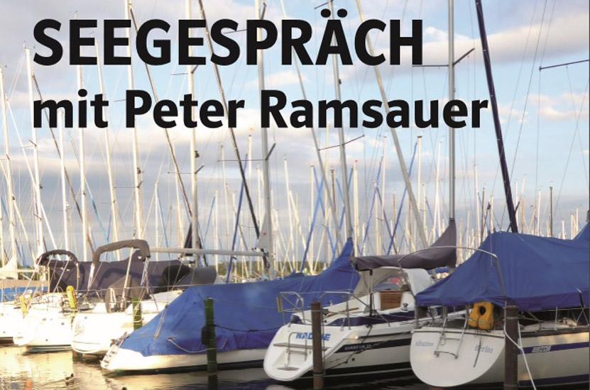 Veranstaltungseinladung: Seegespräch Seebruck mit Peter Ramsauer