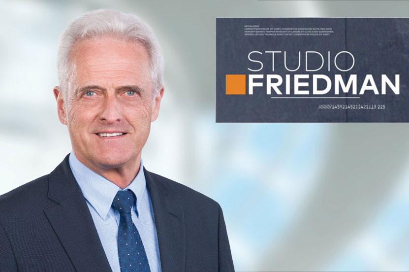 Dr. Peter Ramsauer Gast bei STUDIO FRIEDMAN