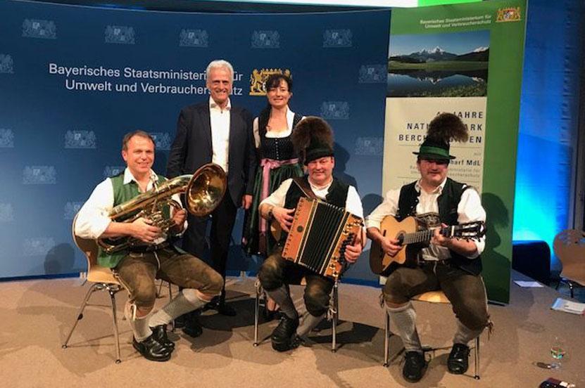 Nationalpark Berchtesgaden präsentierte sich in Berlin