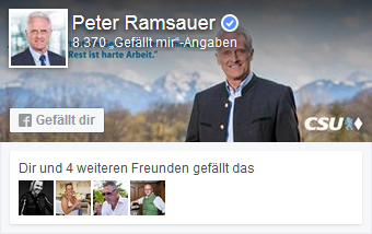 dr. peter ramsauer dissertation