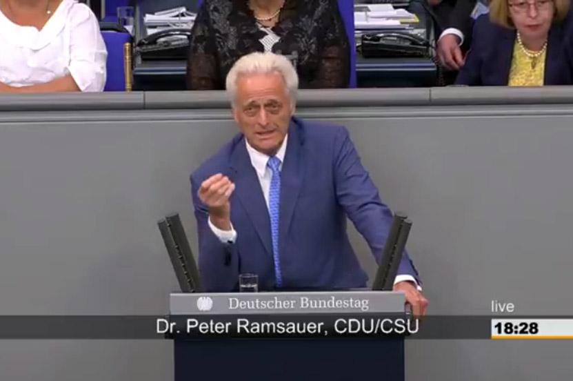 Deutscher Bundestag – Haushaltsdebatte