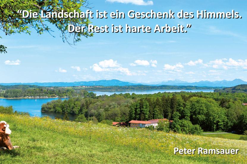 Dr. Peter Ramsauer wünscht eine schöne Ferienzeit