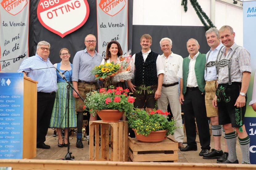 Politischer Frühschoppen mit Landwirtschaftsministerin Michaela Kaniber und Bundesminister a.D. Peter Ramsauer