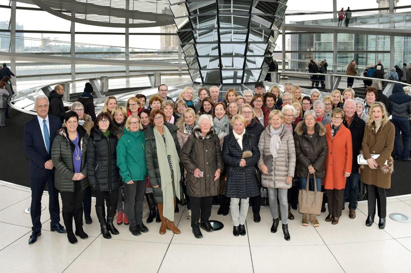 Frauen-Union Traunstein und Berchtesgadener Land besuchten Berlin