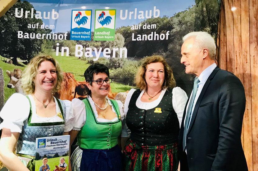 Peter Ramsauer auf der Grünen Woche in Berlin