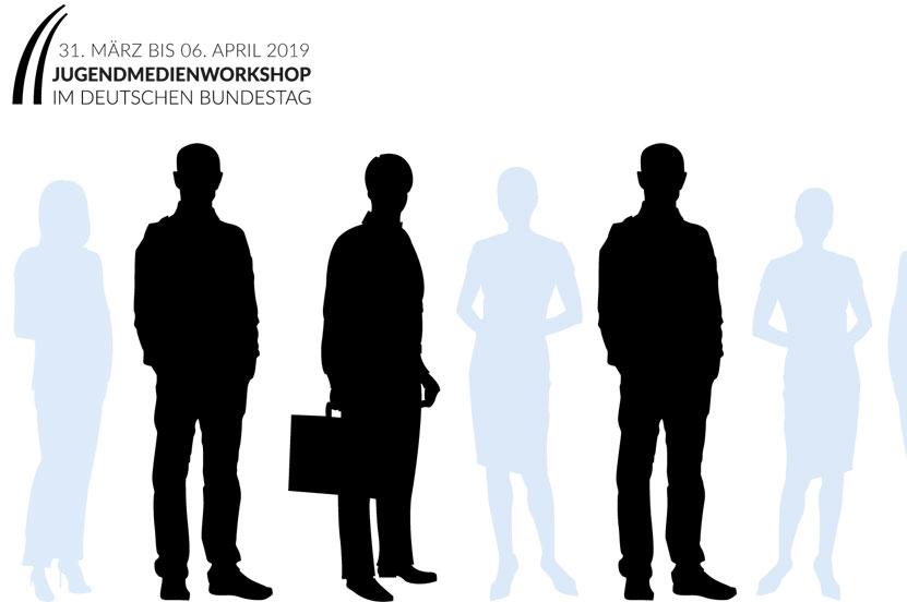 Jugendmedienworkshop im Deutschen Bundestag vom 31. März bis 6. April 2019