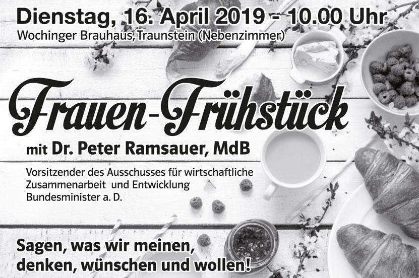 Frauen-Frühstück 16.04.2019 – 10.00 Uhr Wochinger Brauhaus