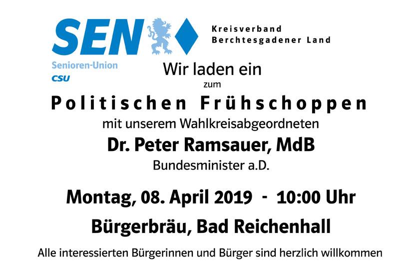 Politischer Stammtisch 08.04.2019 – 10 Uhr Bad Reichenhall